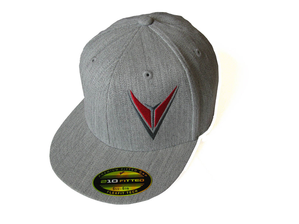 Vevo Heather Gray Youth Flex Cap