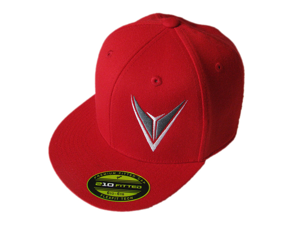 Red Snap Back Hat Adult