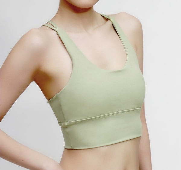 Exhale Bra- Green