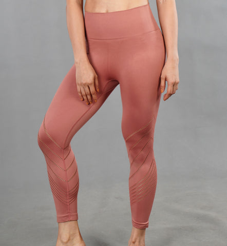 V-Up Leggings - Salmon