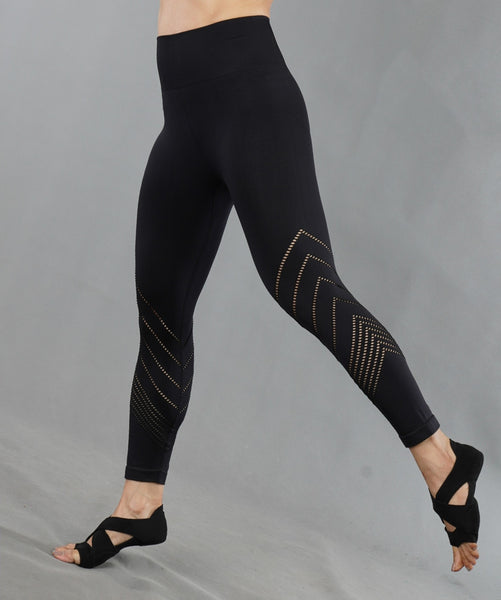 V-Up Leggings - Black