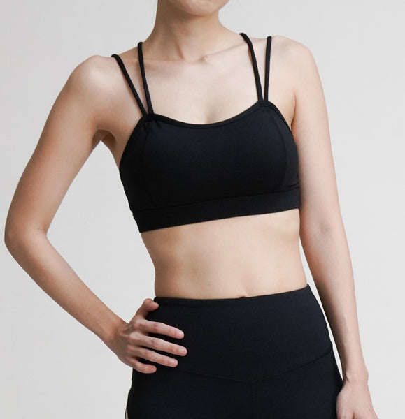Enlightened Bra- Black