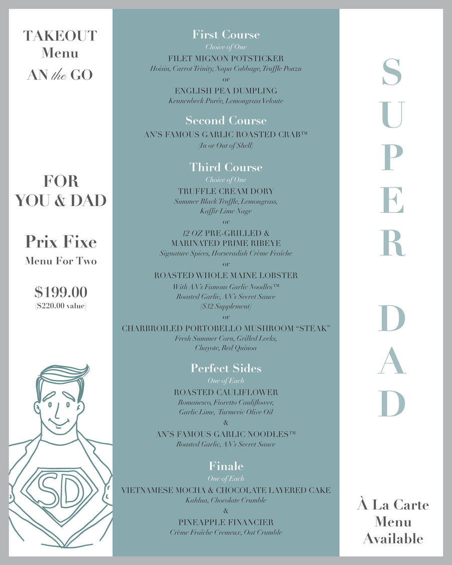 Father's Day Menu Option#1