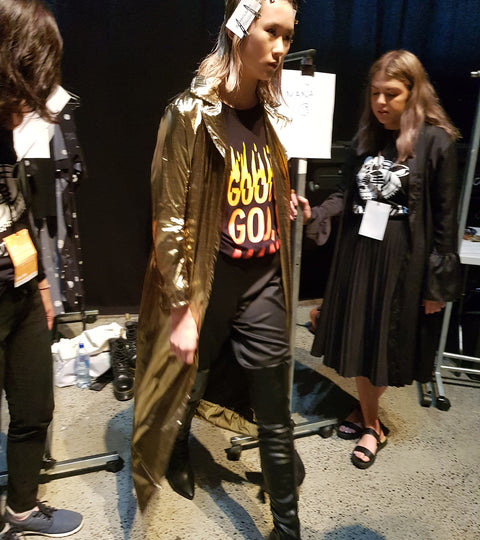 Sans Pareil Backstage at NZFW