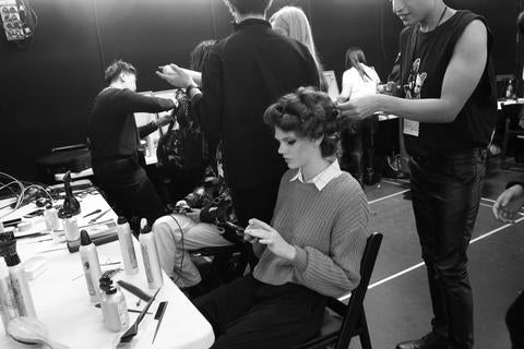 Model Basics Backstage at NZFW