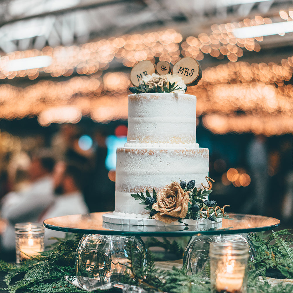 Wedding Cakes To Suit Your Style: Hand Painted Florals