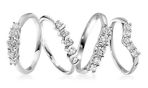 Platinum Eternity Rings
