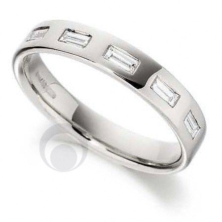 Diamond Platinum Wedding Ring