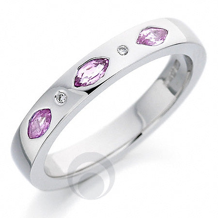 Diamond Platinum Wedding Ring - PRC160PSP