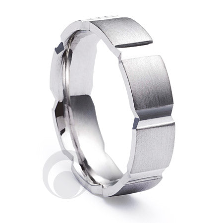 Platinum Wedding Ring Bacio
