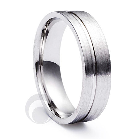 Platinum Wedding Ring Pulso
