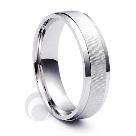 Platinum Wedding Ring Touche