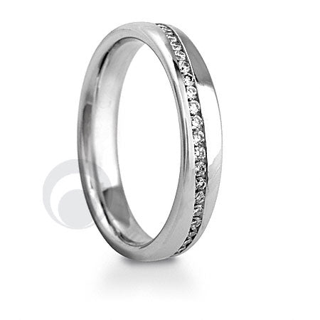 Diamond Platinum Wedding Ring - PRC015WP-4