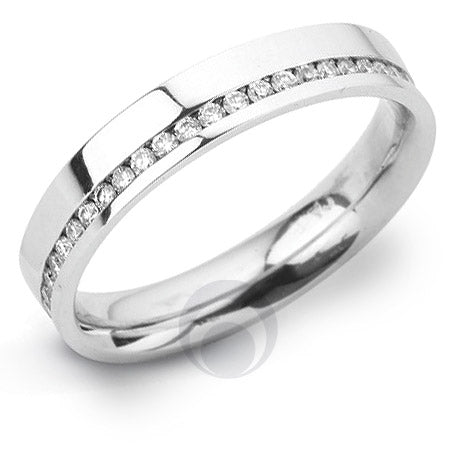Diamond Platinum Wedding Ring - PRCO16WP-4