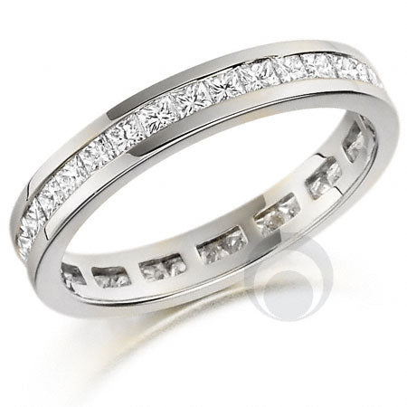 Diamond Platinum Wedding Ring - PRC259W