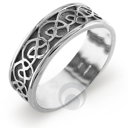 Platinum Celtic Wedding Ring - PRCCELTIC11IP
