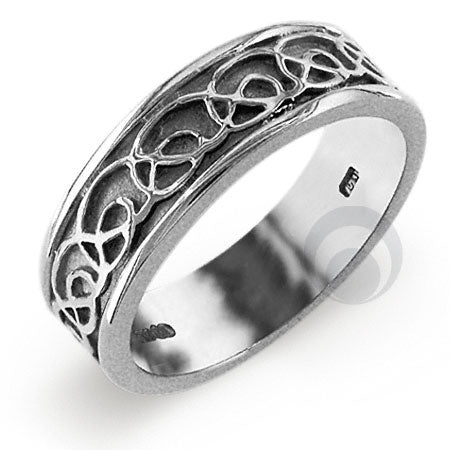 Platinum Celtic Wedding Ring - PRCCELTIC12IP