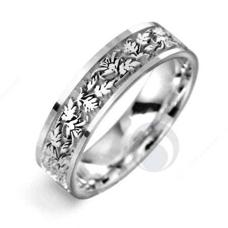 Platinum Celtic Wedding Ring - PRCCELTIC1-GP