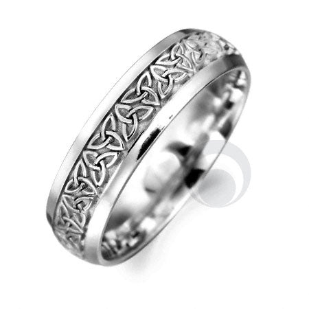 Platinum Celtic Wedding Ring - PRCCELTIC3-GP