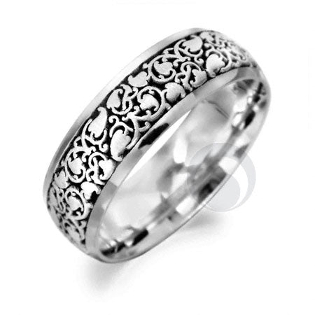 Platinum Celtic Wedding Ring - PRCCELTIC5-GP