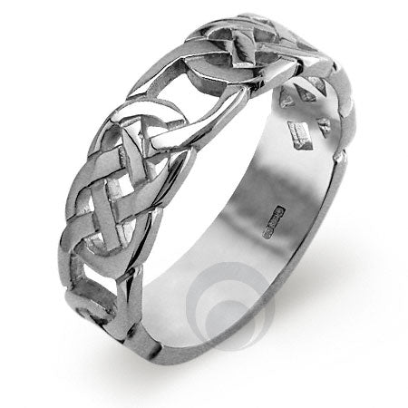 Platinum Celtic Wedding Ring - PRCCELTIC9-GP