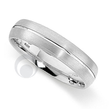 Platinum Patterned Wedding Ring - PRCCT5603-3GP