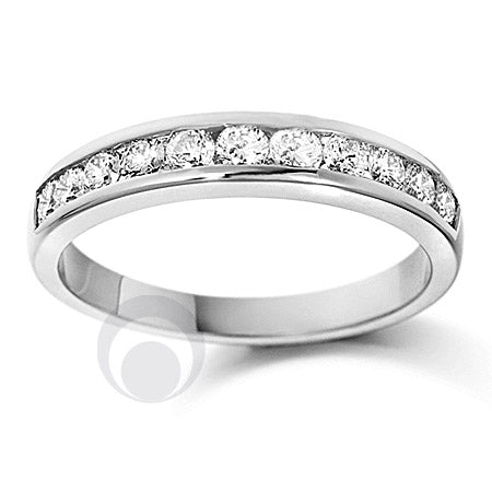 Channel Set Eternity Ring - PRC0010