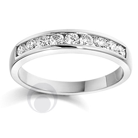 Channel Set Eternity Ring PRC0011