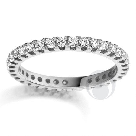 Claw Set Eternity Ring