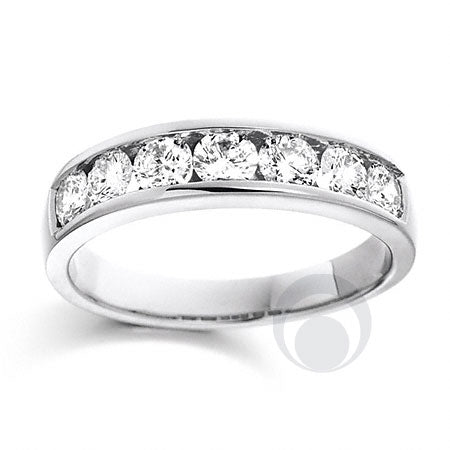 Channel Set Eternity Ring - PRC0012