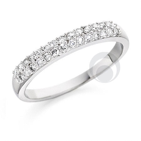 Claw Set Eternity Ring - PRC013W