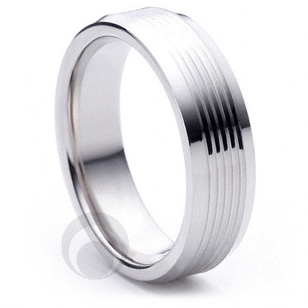 Platinum Wedding Ring Armonice
