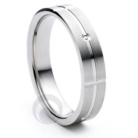 Platinum Wedding Ring Carino