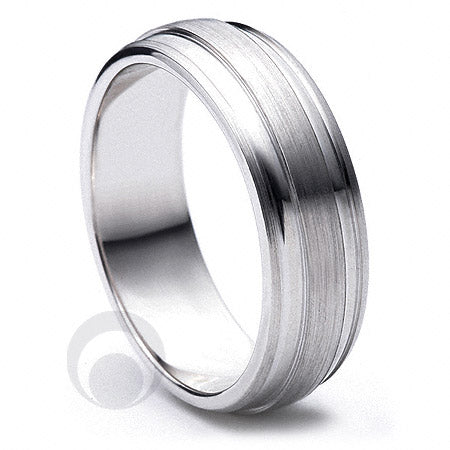 Platinum Wedding Ring Dedique