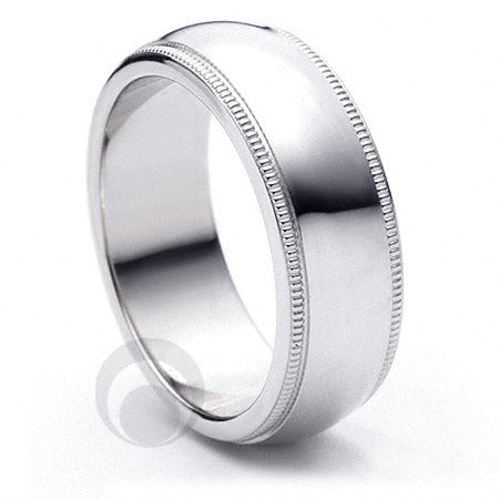Platinum Wedding Ring Felicita - PBA01-3IP