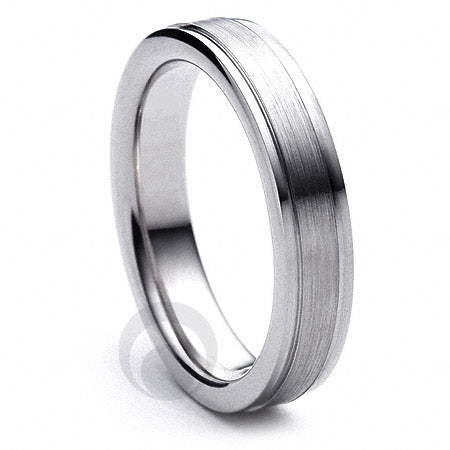 Platinum Wedding Ring Fiore - PBA11F-4IP