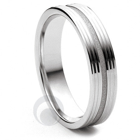 Platinum Wedding Ring Orbite