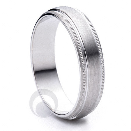 Platinum Wedding Ring Siempre