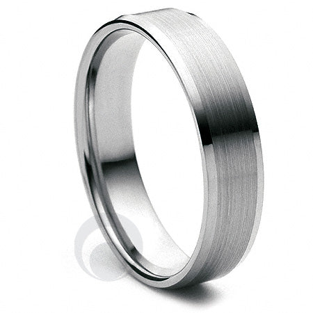 Platinum Wedding Ring Soleil - PBA14F-4IP