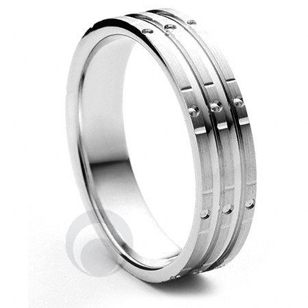 Platinum Wedding Ring Stelle