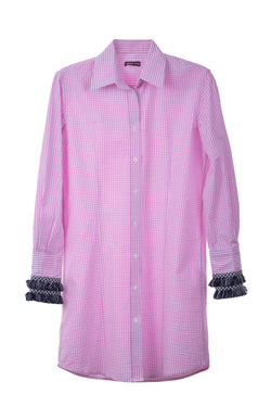 Beachcomber Shirt Seersucker Pink