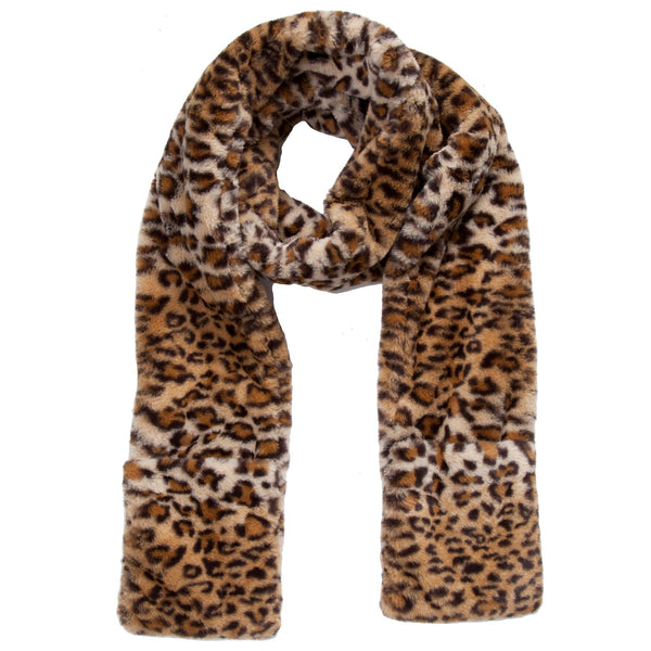 No-No Scarf (Leopard and Black)