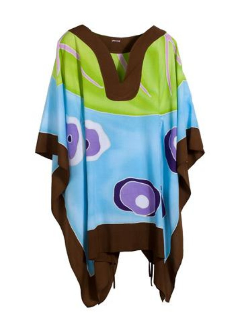 Island Brown Poncho