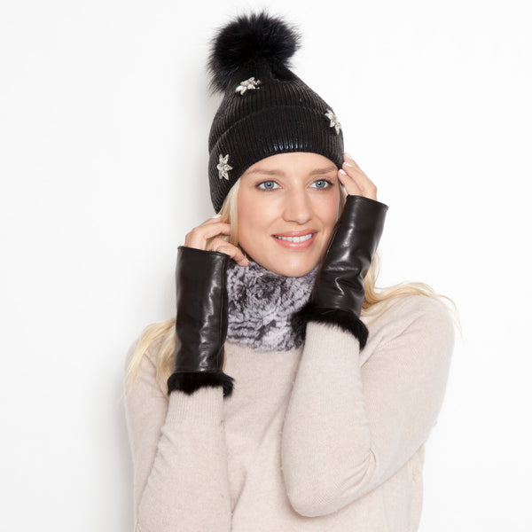 Megalopolitan Mittens ( Black, Navy or Hunter)