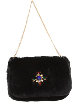 Maltese Medallion Clutch