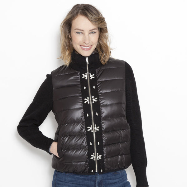 Puffer Perfect Embellished Cardi
