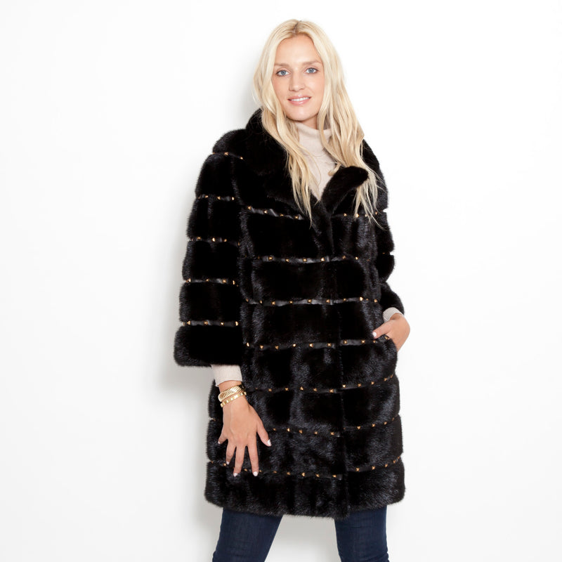 Super Stud Mink Coat