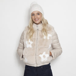 Flower Power Down Jacket
