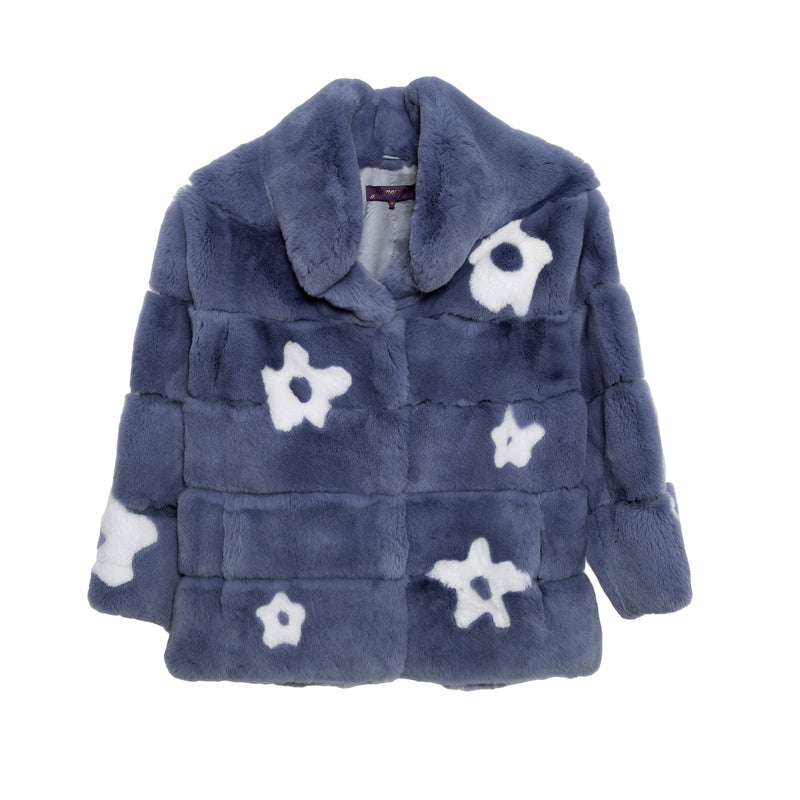 Flower Power Stand Collar Jacket