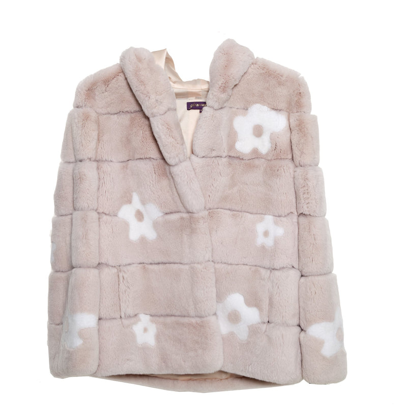 Flower Power Hooded Jacket